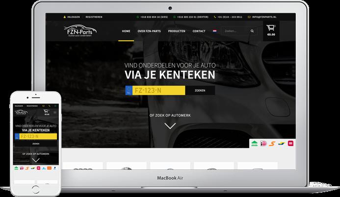 Fzn Parts Online Marketing Bureau Dutch Blue